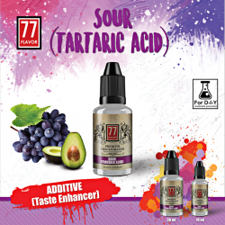 Additif Tartaric Acid 10mL [77 Flavor]