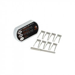 Pack 8 coils N90 Fused clapton F207