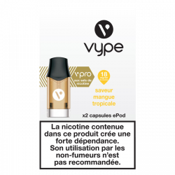 Pods vPro ePod Mangue Tropicale 18mg 1,9mL [Vype]
