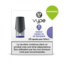 2 capsules Epen 3 Cassis On Ze Banquise
