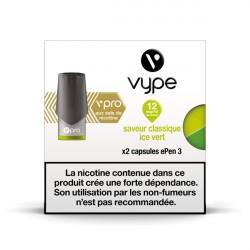 6x2 capsules Epen 3 VPRO Classique Ice Vert