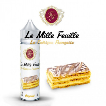 Le Mille Feuille 50ml 0mg + 1 Booster