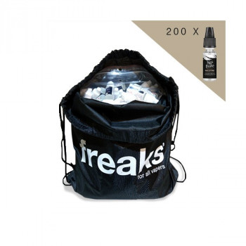 Sac de 200 Boosters NicoFreaks 19.9mg 50/50