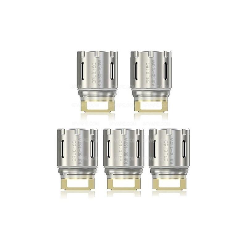Mèches ERL Single 0.15ohm x5 [Eleaf]