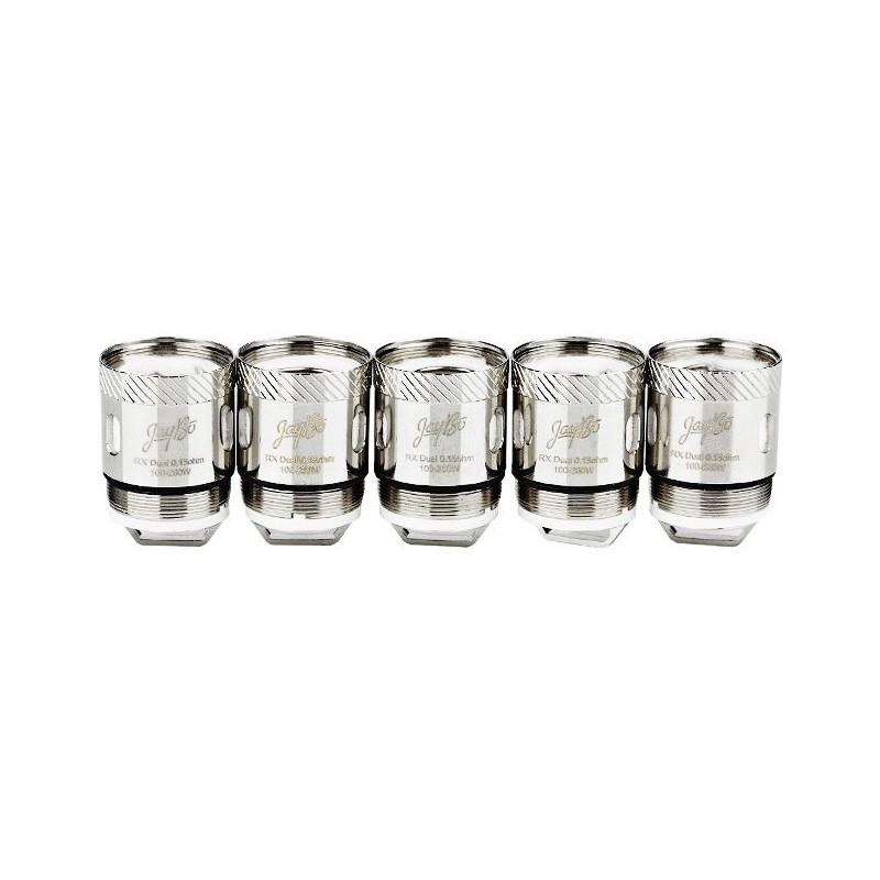 Mèches Reux Dual Coil 0.15ohm x5 [Wismec]