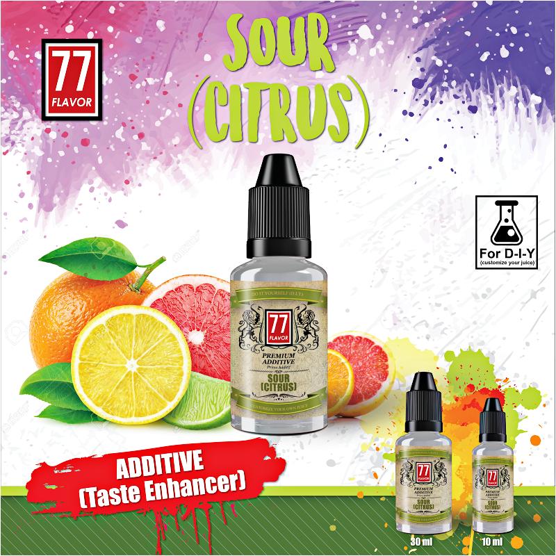 Additif Sour Citrus 10mL [77 Flavor]