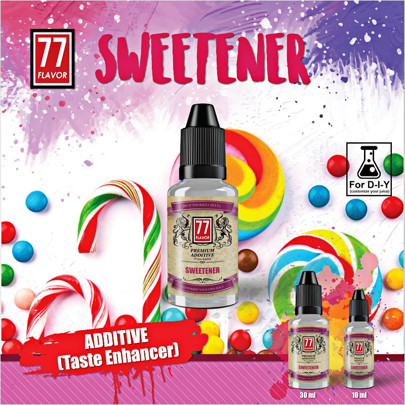 Additif Sweetener 10mL [77 Flavor]
