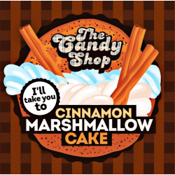 Concentré Cinnamon Marshmallow Cake 10mL [Candy Shop, Big Mouth]