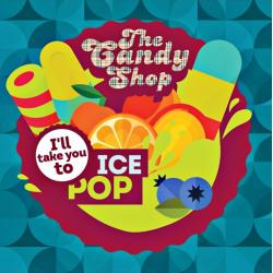Concentré Ice Pop 10mL [Candy Shop, Big Mouth]