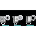 Mèches Reux Triple Coil 0.15 ohm x5 [Wismec]