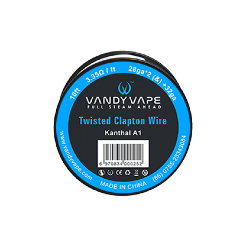 Twisted Fused Clapton KA1 3m[Vandy Vape]