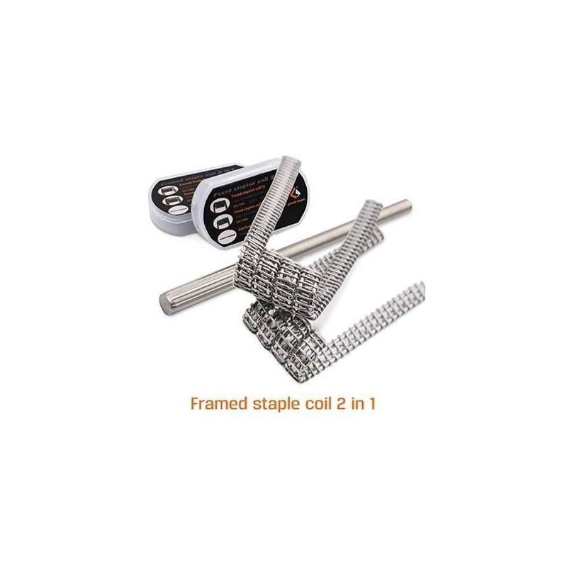 Pack 8 coils Framed Staple Clapton [Geek Vape]