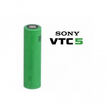 Accu VTC5 18650 2600mAh 20A x2 [Sony]